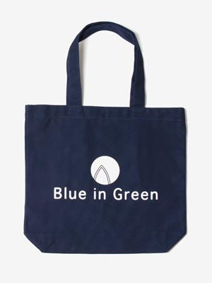 Blue in Green(ブルーイングリーン)/ Small TOTE BAG -NAVY-