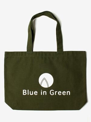 Blue in Green(ブルーイングリーン)/ Large TOTE BAG -OLIVE-