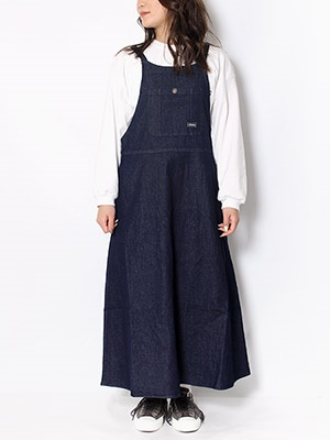 Cheers(チアーズ)/ JUMPER SKIRT -INDIGO-