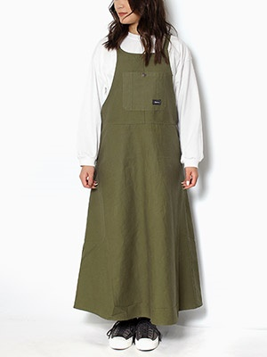 Cheers(チアーズ)/ JUMPER SKIRT -OLIVE-