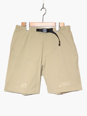 CHARI&CO(チャリアンドコー)/ x GRAMICCI SHUT UP SHORTS -BEIGE-