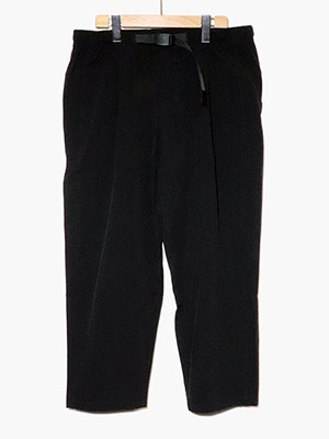 CHARI&CO(チャリアンドコー)/ x GRAMICCI ACCORDION PANTS -BLACK-
