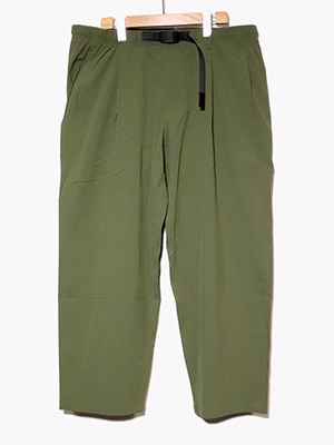 CHARI&CO(チャリアンドコー)/ x GRAMICCI ACCORDION PANTS -OLIVE-