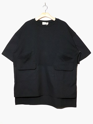 masterkey(マスターキー)/ BACKPACKER SS TEE -BLACK-