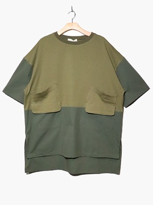 masterkey(マスターキー)/ BACKPACKER SS TEE -KHAKI-
