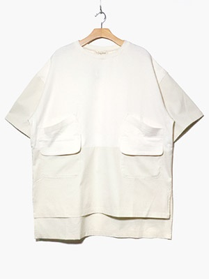 masterkey(マスターキー)/ BACKPACKER SS TEE -WHITE-