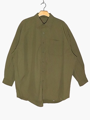 BURLAP OUTFITTER(バーラップ アウトフィッター)/ L/S B.B. SHIRT SOLID -COYOTE-