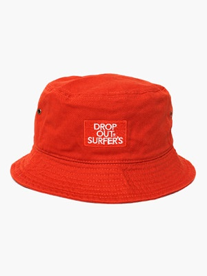DROP OUT SURFER'S(ドロップアウトサーファーズ)/ CLASSIC EMB HAT -RED-