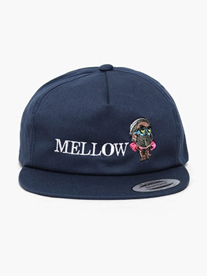 MELLOW(メロー)/ MELLOW SNAPBACK -NAVY-