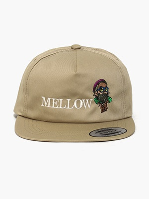 MELLOW(メロー)/ MELLOW SNAPBACK -SAND-