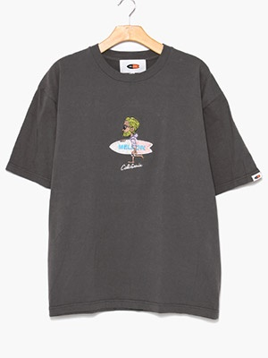 MELLOW(メロー)/ Mr.MARVIE3 TEE -BLACK-