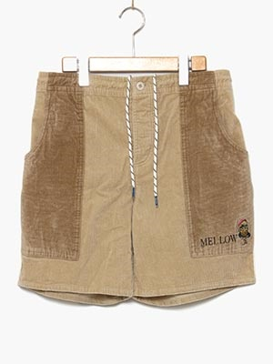 MELLOW(メロー)/ CORDUROY BEACH S/P -NATURAL-