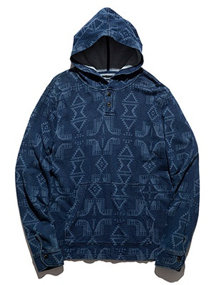 ROARK REVIVAL(ロアークリバイバル)/ THE FES PONCHO -INDIGO-