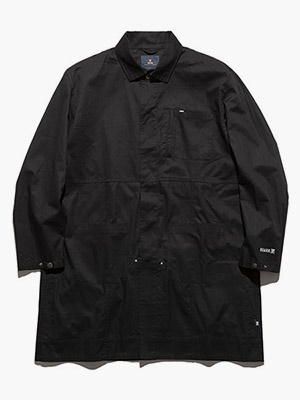 ROARK REVIVAL(ロアークリバイバル)/ NEW TRAVEL COAT -BLACK-