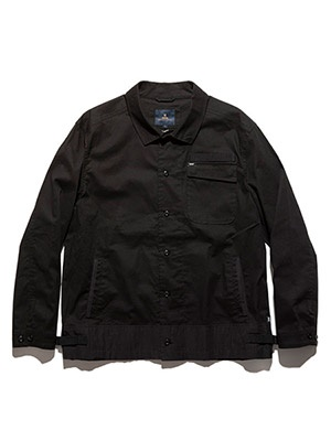 ROARK REVIVAL(ロアークリバイバル)/ FIELDMAN LW SHIRTS JACKET -BLACK-