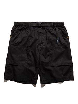 ROARK REVIVAL(ロアークリバイバル)/ HERRINGBONE ST NEW BAKER SHORTS -BLACK-