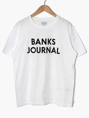 BANKS JOURNAL(バンクスジャーナル)/ JOURNAL TEE SHIRT -OFF WHITE-