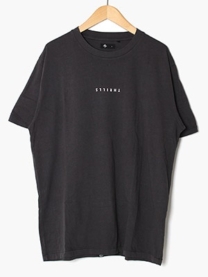 THRILLS(スリルズ)/ MINIMAL THRILLS MERCH FIT TEE -HERITAGE BLACK-