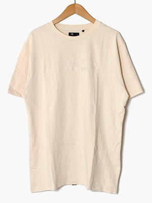 THRILLS(スリルズ)/ TONAL STACKED THRILLS COMPANY MERCH FIT TEE -UNBLEACHED-