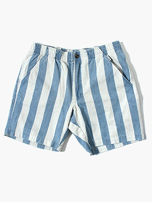 BANKS JOURNAL(バンクスジャーナル)/ SADON STRIPE SHORT PANTS -BLUE FROG-