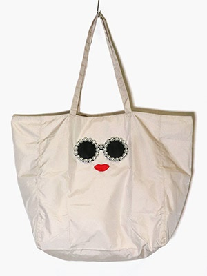 a-jolie(アジョリー)/ ECO BAG -BEIGE-