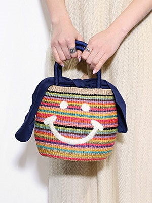 a-jolie(アジョリー)/ RAINBOW MINI BAG -MULTI-