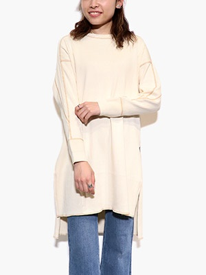 khakito(カーキト)/ SWEDEN RIB ONEPIECE -OFF WHITE-
