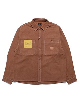 Cheers(チアーズ)/ DUCK SHIRT -BROWN-