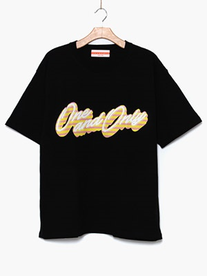 ONE & ONLY(ワンアンドオンリー)/ Only Candy Tee -BLACK-