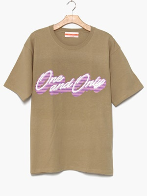 ONE & ONLY(ワンアンドオンリー)/ Only Candy Tee -SAND-