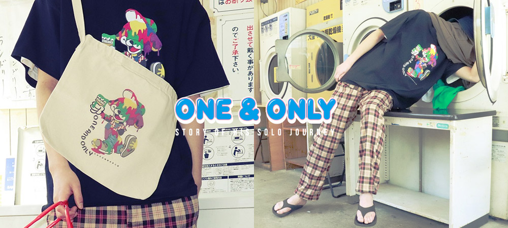 『ONE & ONLY』Tシャツ、雑貨など新作アイテムが到着